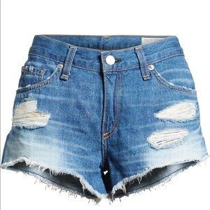 Rag & Bone The Cutoff Denim Shorts